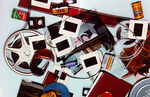 your lifetime collection of precious memories on film, slides, photographs